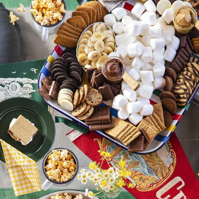 smores appetizer tray