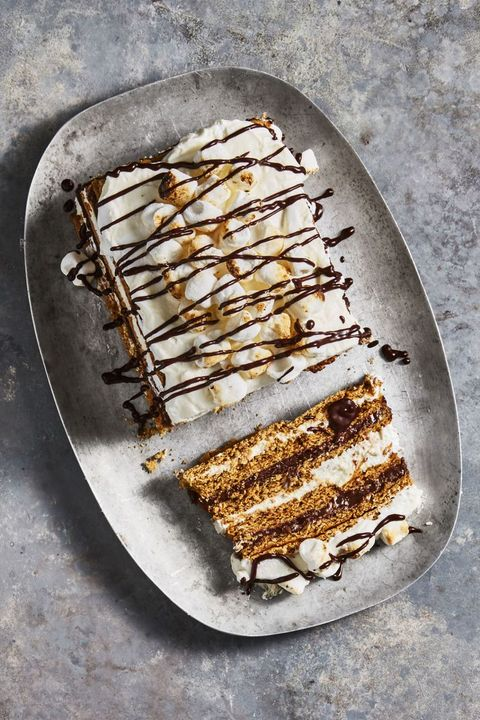 S'mores Icebox Cake - Mother's Day Desserts