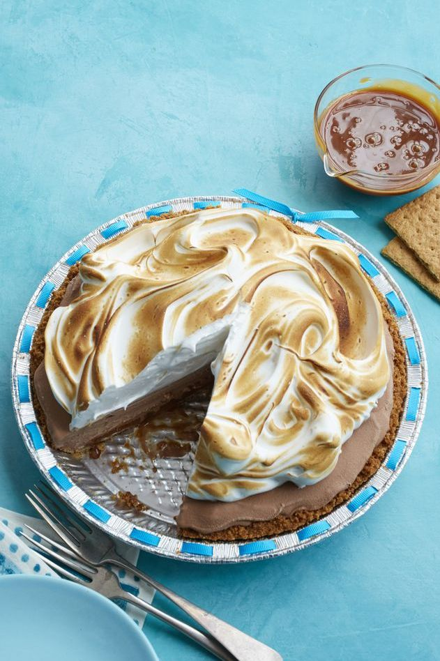 Easter pie - S'mores Ice Cream Pie