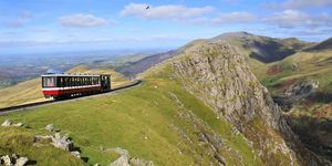 Train holidays UK - Snowdon Mountain Railway