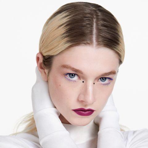 hunter schafer shiseido makeup