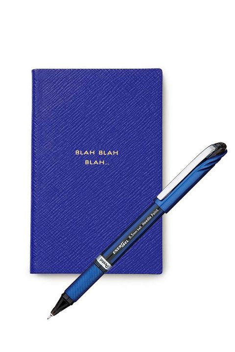 Pen, Office supplies, Ball pen, Text, Writing instrument accessory, Fountain pen, Writing implement, Electric blue, Paper product, Stationery,