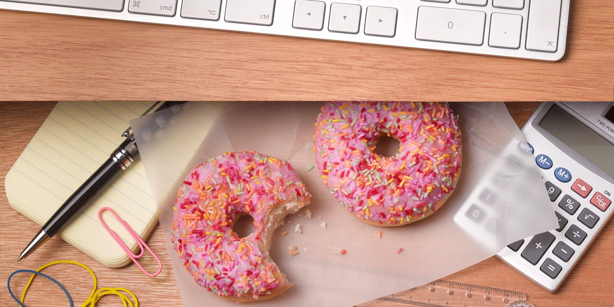 doughnut, snacking