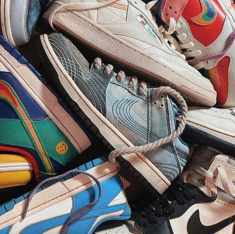 sneaker aging