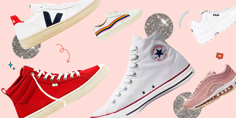 Best Sneaker Brands — 25 Fashion Sneaker Brands for Women