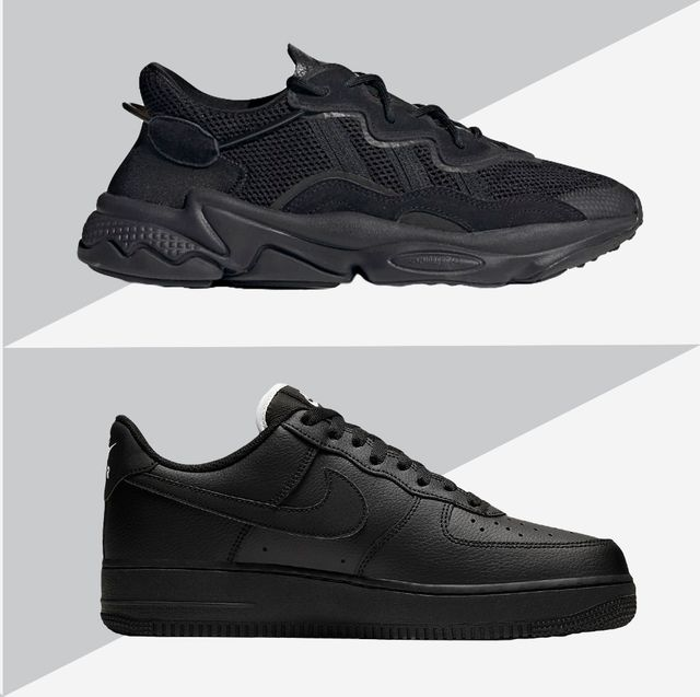 Black Shoes 13 Best All-Black Sneakers to Buy Now - Stylish All-Black Shoes ...