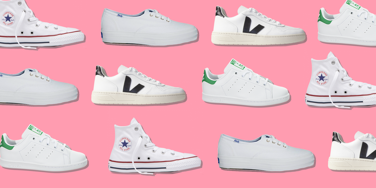 These Cute White Sneakers Will Go With Absolutely Everything