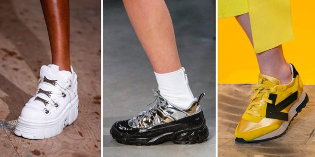 De 5 grootste sneakertrends van HerfstWinter 2019