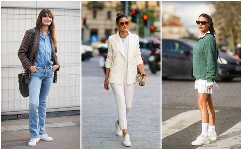 Clothing, White, Street fashion, Jeans, Fashion, Footwear, Shoe, Denim, Outerwear, Jacket,