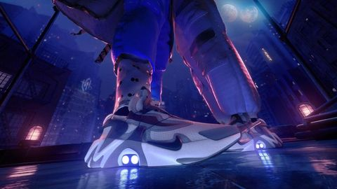 timeless design 3f8dd 9450b Le sneakers Nike che si allacciano da sole o con la voce ...
