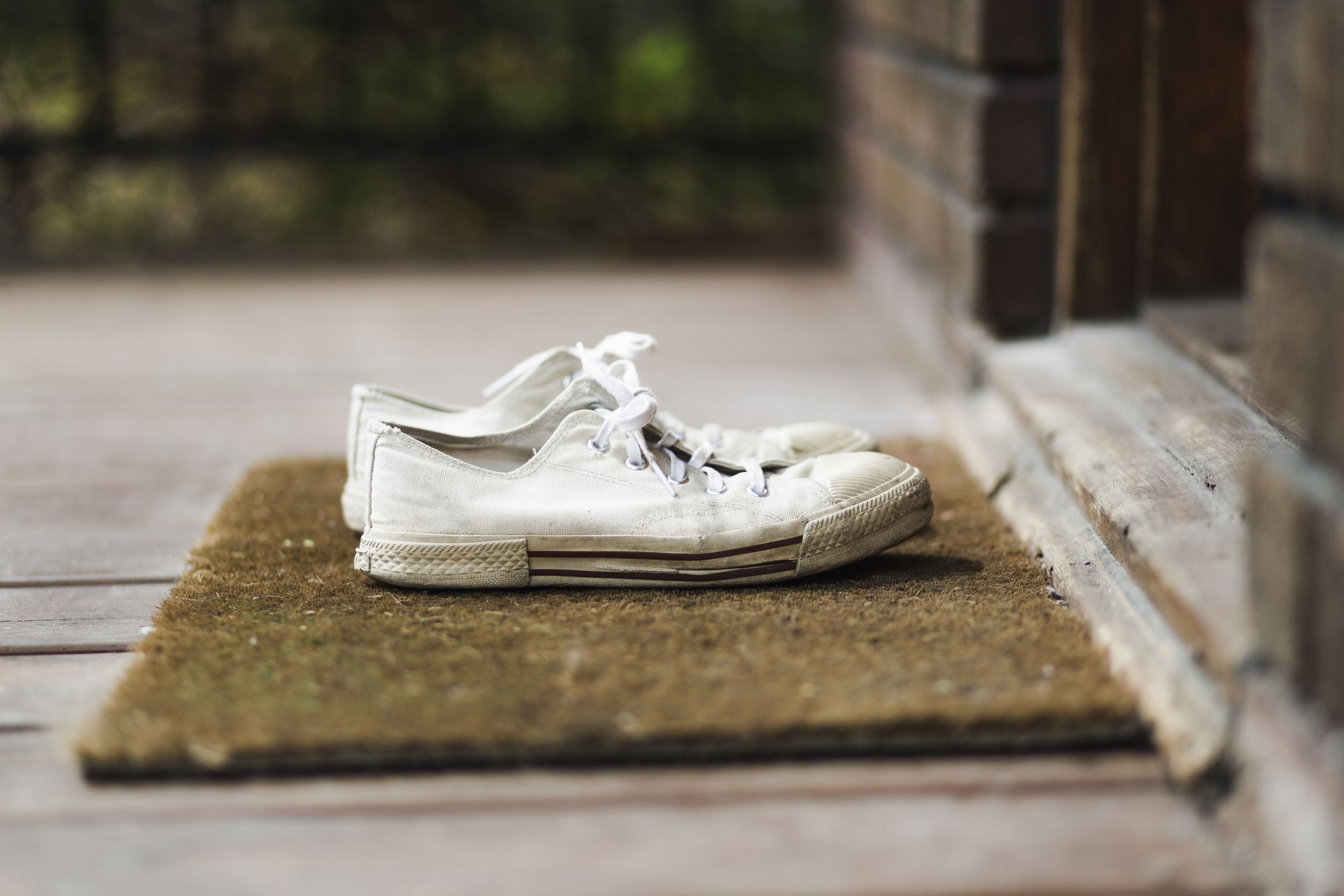 How to get white trainers clean and fresh