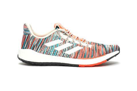 Shoe, Footwear, Orange, Outdoor shoe, Sneakers, Walking shoe, Running shoe, Turquoise, Athletic shoe, Plimsoll shoe,