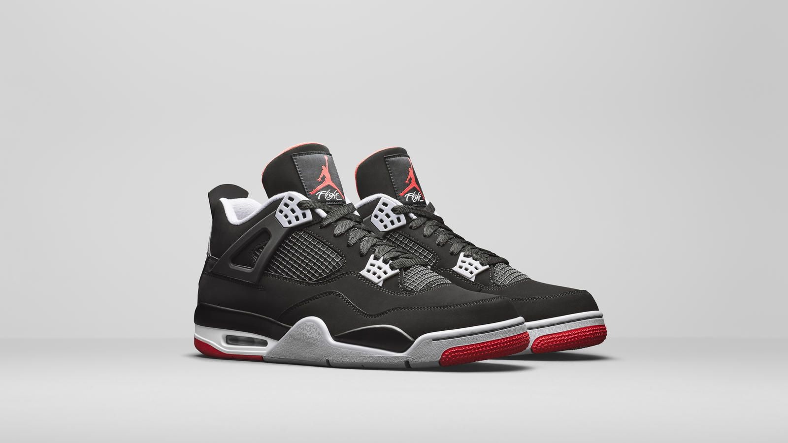 air jordan 4 retro uomo nere