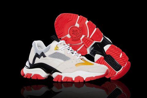 Footwear, White, Red, Black, Carmine, Shoe, Athletic shoe, Sneakers, Outdoor shoe, Walking shoe,