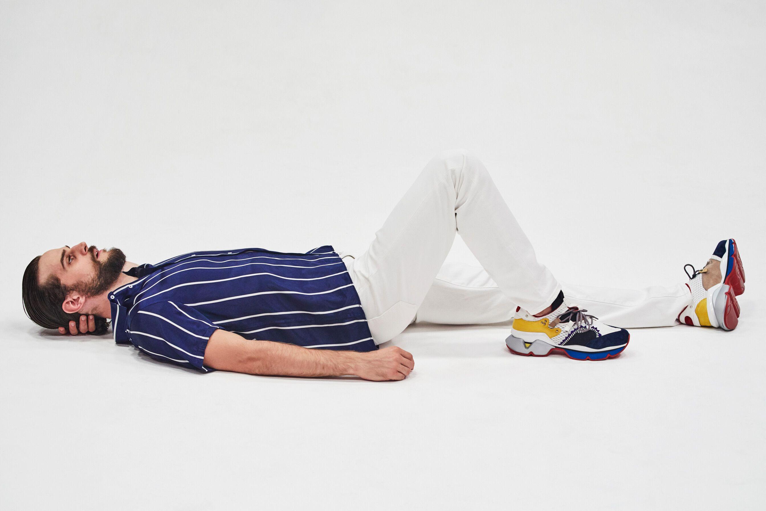 0d4cc29e5bb6 Christian Louboutin lancia le sue prime sneakers da uomo