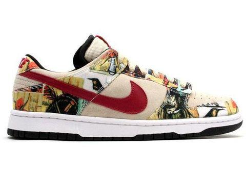 Footwear, Shoe, Sneakers, Outdoor shoe, Walking shoe, Athletic shoe, Plimsoll shoe, Carmine, Skate shoe, Beige,