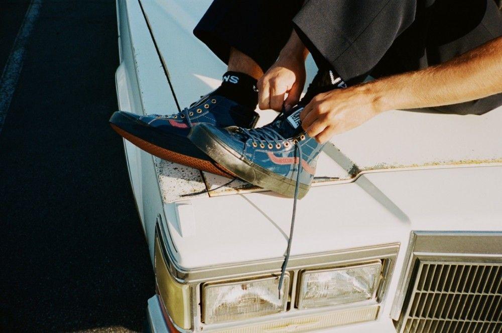 Le sneakers uomo Vans ispirate alla Cadillac vintage di un