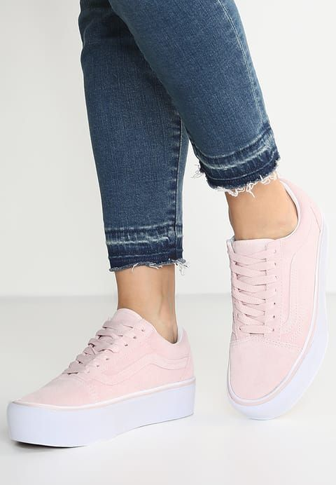 vans roze of wit