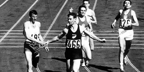 Peter Snell in 1500m at 1964 Olympics