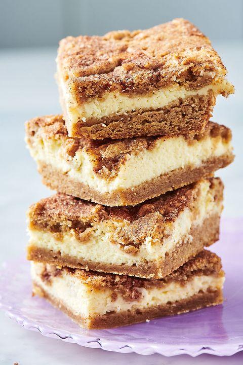 Snickerdoodle Cheesecake Bars - Delish.com