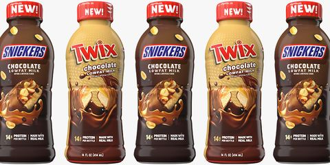 Drink Your Candy Bar With These New Snickers- and Twix-Flavored Chocolate Milks