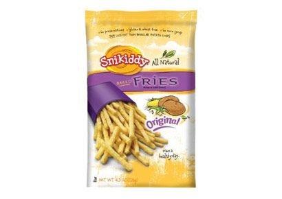 Snikiddy All-Natural Baked Fries