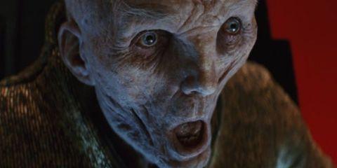 Lider Snoke Star Wars Ultimos Jedi
