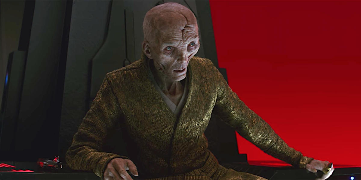 Star Wars 9 Snoke Return Theory - Andy Serkis Canceling Comic Con Means He's Ret...