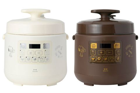 白色和咖啡色的史努比多功能壓力鍋