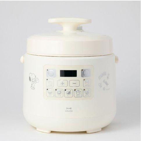 本篇BAZAAR又要來推坑大家日本廚具品牌 BRUNO 所推出的「史努比多功能壓力鍋」,讓軟萌的史努比陪你一起下廚!