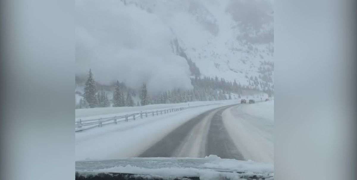 Top Fastest Cars >> Colorado Avalanche Blankets Stretch of I-70 Highway in Harrowing Video