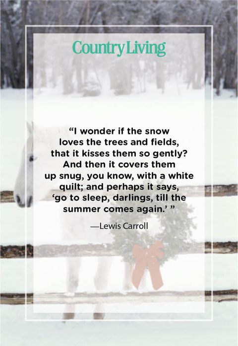 snow quotes lewis carroll