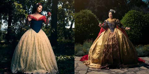 Gown, Dress, Clothing, Victorian fashion, Fashion, Costume design, Formal wear, hoopskirt, A-line, Outerwear,