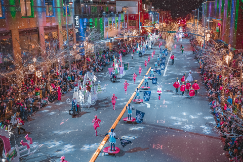 Christmas Vacation Ideas.Snowflake Lane Is The Best Christmas Parade In Washington