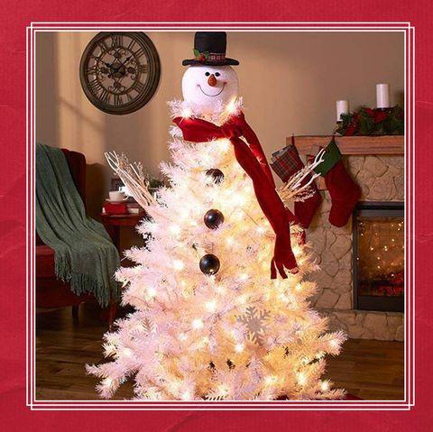 Snowman Christmas Tree Tutorial Where To Buy A Snowman