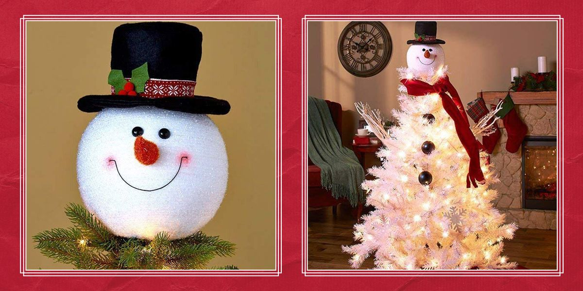 These Adorable Snowman Christmas Trees Are Even Cuter Than the Real Thing
