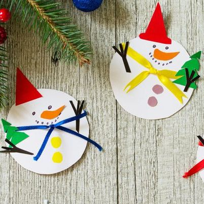 25 Easy Snowman Crafts For Kids And Adults Diy Snowman Christmas Decor