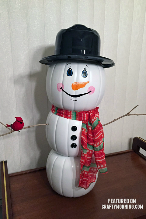 25 Easy Snowman Crafts For Kids And Adults Diy Snowman