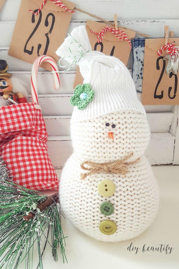 Snowman Crafts Sweater