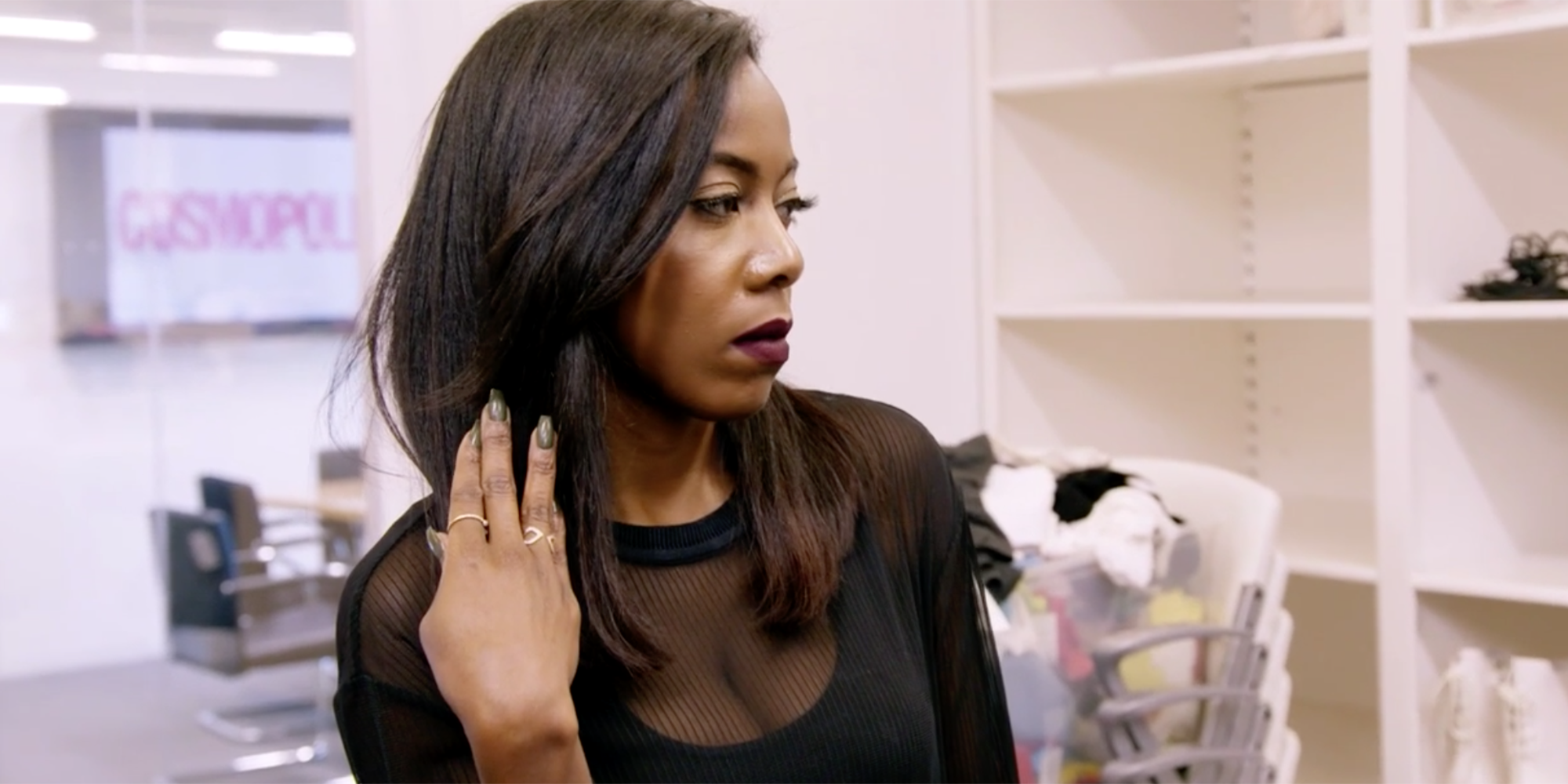 So Cosmo Welcomes Some Fashion Drama After Tiffany Damages a Couture Skirt