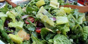 Greenleaf Salad with 300x150