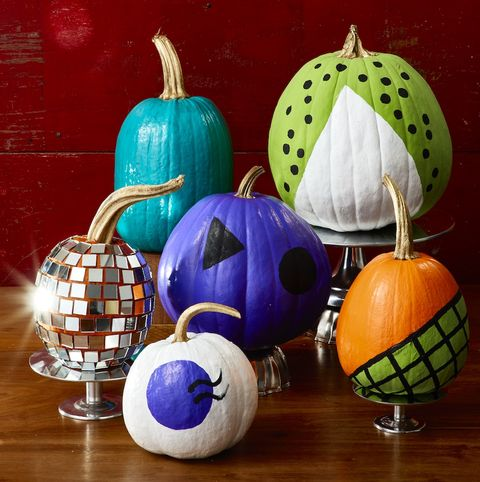 painting pumkin ideas - so retro