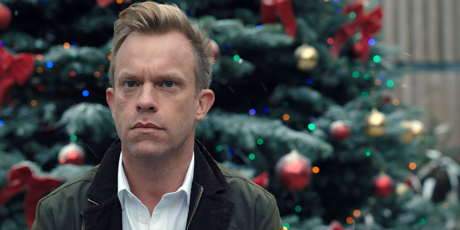 Dylan Keogh at Christmas in Casualty