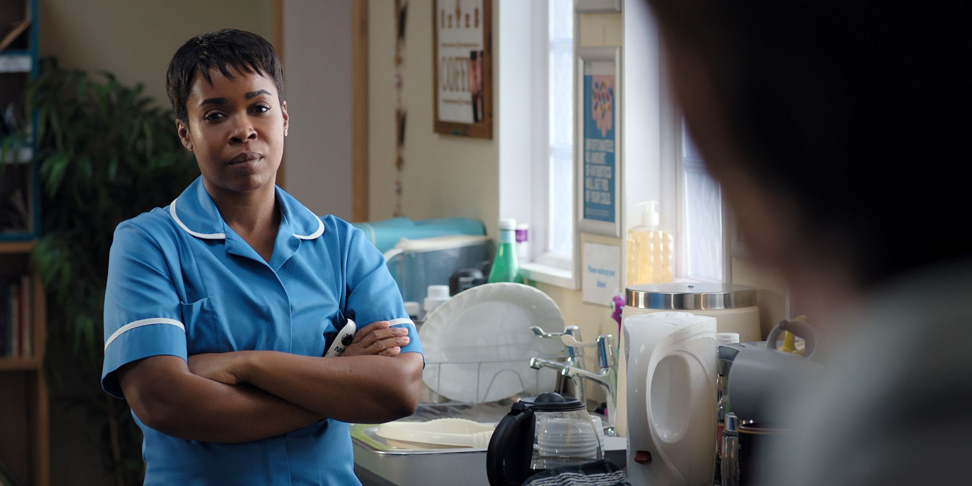 Louise Tyler in Casualty