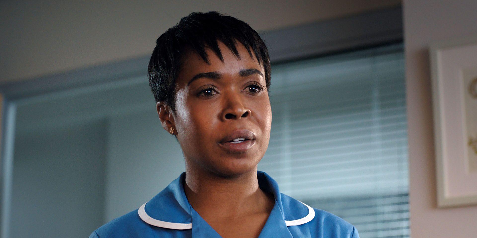 Louise Tyler in Casualty