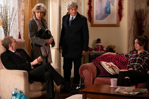 Audrey Roberts announces plans for her money in Coronation Street