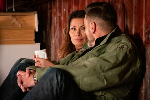 Carla Connor and Peter Barlow get closer in Coronation Street