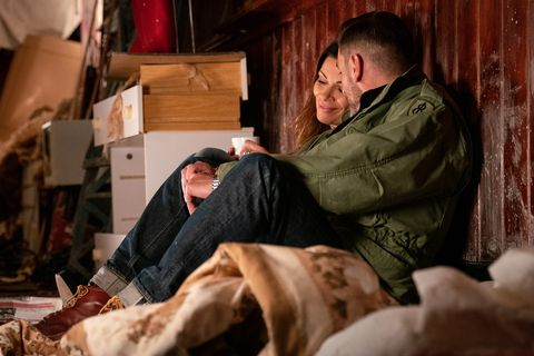 Carla Connor and Peter Barlow grow closer in Coronation Street
