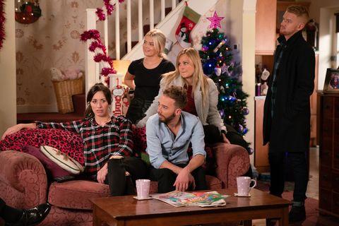 The Platts make plans for Christmas in Coronation Street