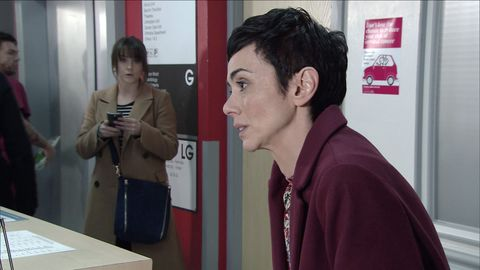 Sophie Webster sees May in Coronation Street